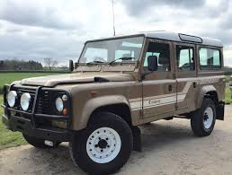 80s land rover 1986 landrover 110 county station wagon fantastic v8 now in the us