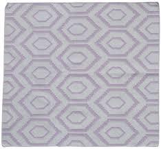 carpet area rug with kilim pattern u2013 in mauve u0026 ivory color u2013 hand