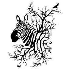 zebra family tree ideas