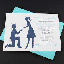 engagement party invitation template silhouette couple u2013 download