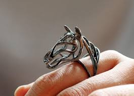 fine art rings images Zodiac horse ring gallop horse ring horsey collection wire jpg