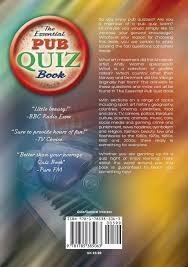 the essential pub quiz book amazon co uk hannah blamires