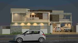 Building Elevation In 12 X40 by Architectural Design Bungalow Plans Gharplans Pk