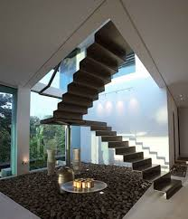interior awesome modern spiral staircase design with chromed