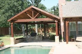 Open Patio Designs Outdoor Patio Designs The Covered Patio Has A 20 20 Cedar Open