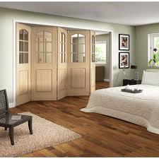 Jeld Wen Room Divider Jeld Wen Aston White Primed 3 Light Clear Glazed Fold Sliding
