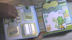 baby boy scrapbook album baby boy mini album