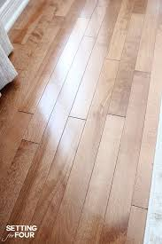 How To Clean Hardwood Laminate Flooring Deep Cleaning Your Hardwood Floors Setting For Four