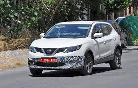 nissan qashqai tekna spec us spec nissan qashqai spied testing in spain with manlier styling