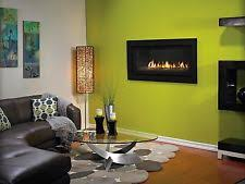 Contemporary Gas Fireplaces by Linear Gas Fireplace Ebay