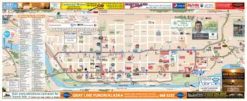 Skagway Alaska Map by Whitehorse Downtown Map Yukon Territory Alaska Northern British