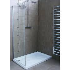 parete fissa doccia cristallo fisso doccia 80x200cm prezzi e offerte kamalubagno it