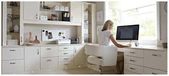 White Home Office Desks Home Office Furniture Bespoke Office Space Designed For Your