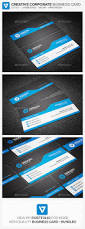 modern corporate business card by verazo graphicriver