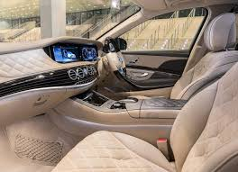 2018 mercedes benz s class maybach s650 interior seating leather