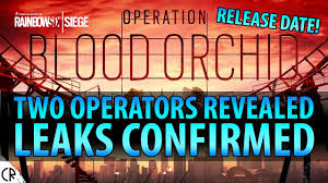 Tom Clancy Rainbow Six Siege Blood Orchid Dlc Operation Blood Orchid Two Operators Revealed Tom Clancy S