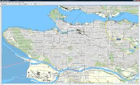 Vancouver Canada Map by 2010 Cycle Tour Across Canada Ibycus Topo Free Garmin