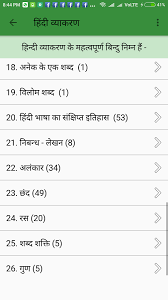hindi grammar android apps on google play