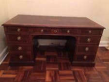 hekman desk leather top hekman furniture ebay