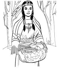 native american fun kit coloring book pages pocahontas coloring