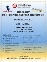 Gap In Career Resume Military Career Transition Bootcamp Suiting Warriors And