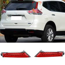 trail of lights parking car rear brake lights for nissan x trail rogue 2014 2015 rear end