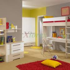Kids Bunk Beds With Desk Underneath by Bunk Bed With Desk Underneath For Your Kids U0027 Compact Room