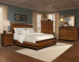 Brown Furniture Bedroom Ideas Interior Brown Wooden With White Sheet Plus Side Table And