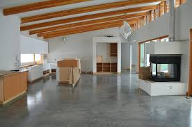 Polished Concrete Floors Modern Floor Options In Contemporary - Concrete home floors