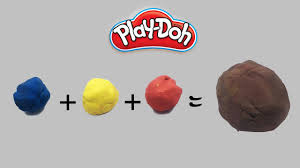 mixing brown color playdoh how to mix playdough colors