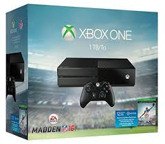 black friday deals game launch xbox one bundles as amazon reveal amazon com xbox one 1tb console ea sports madden nfl 16 bundle