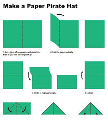 how to make an origami pirate hat 21 creative ways to make a hat