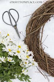 wreath supplies easy diy wreath on sutton place