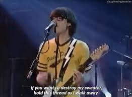 undone the sweater song lyrics cc rivers cuomo