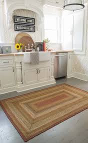 Apple Kitchen Rugs Kitchen Small Kitchen Rugs Homespice Braided Rugs Square Braided
