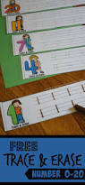 kindergarten worksheets and games free trace and erase numbers 1 20