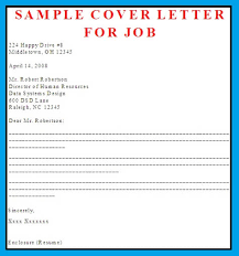 job covering letter samples cover letter business letter examples