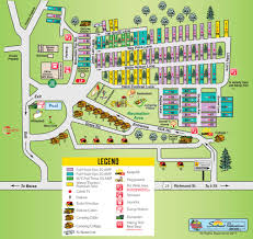 map ok ky rv cgrounds daniel boone national forest amenities rv parks in kentucky