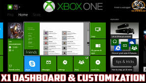 customize home xbox one dashboard home screen personal customization pins
