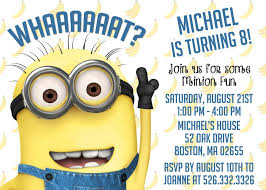 diy minion invitations wonderful minion invitations template contemporary exle