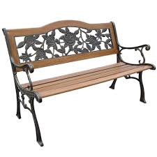 Garden Wood Chairs Bfm Seating Dv Bl Vista Photo With Marvellous Exterior Bench Plans