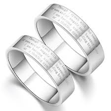 promise ring sets for him and engraved promise ring wedding bands at yoyoon