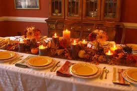 how to decorate a thanksgiving table captivating 29 diy