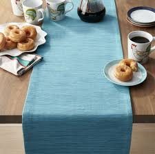 table runner grasscloth 90 aqua blue table runner in table runners reviews