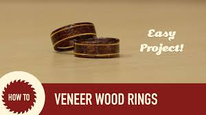 make wood rings images How to make wood wedding rings quick and easy jpg