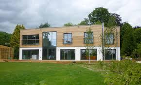 weberhaus custom built prefabricated home with large modern