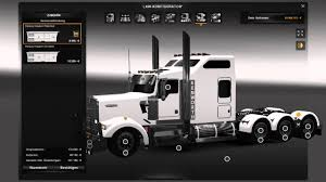 kenworth custom parts ets2 v1 19 1 kenworth w900l new interior youtube