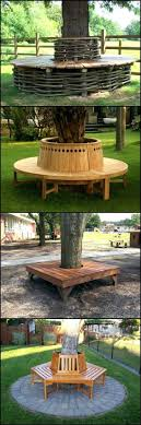 bench around tree bench around tree tree bench octagonal