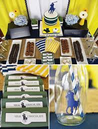 polo baby shower decorations ralph inspired polo club birthday party hostess