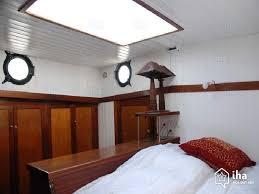 location chambre peniche location bateau à quai à 8ème arrondissement iha 3861